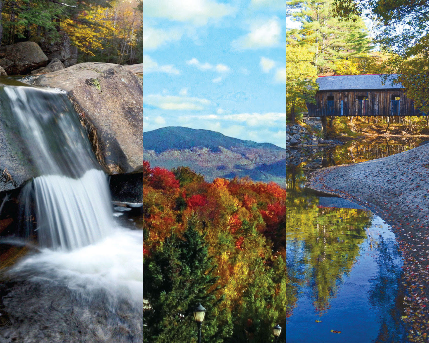 Fall Foliage Workshop in Western Maine: Waterfalls & Covered Bridges